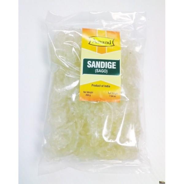 Anand Sandige Sago 7 Oz / 200 Gms