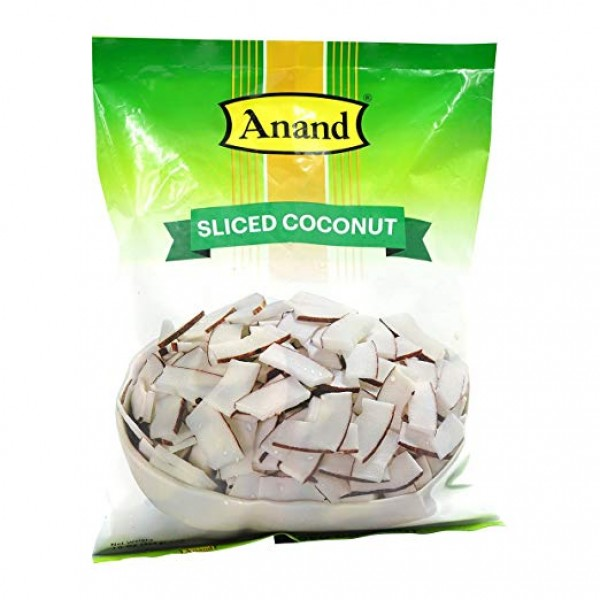 Anand Sliced Coconut 16 Oz / 454 Gms