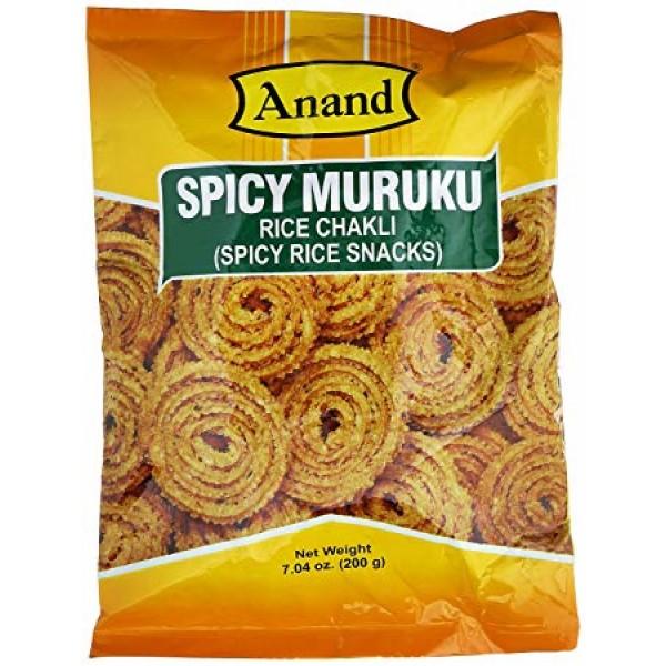 Anand Spicy Murukku 7 Oz / 200 Gms
