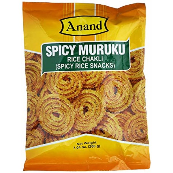 Anand Tapioca Chips Spicy 7 Oz / 200 Gms