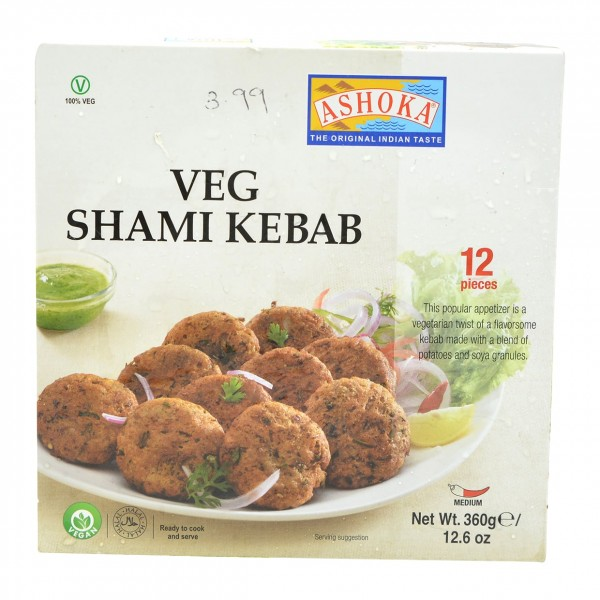 Ashoka Veg Shami Kabab 12 Pieces
