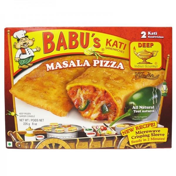 Babu's Kati Masala Pizza Sandwich 8 Oz / 226 Gms