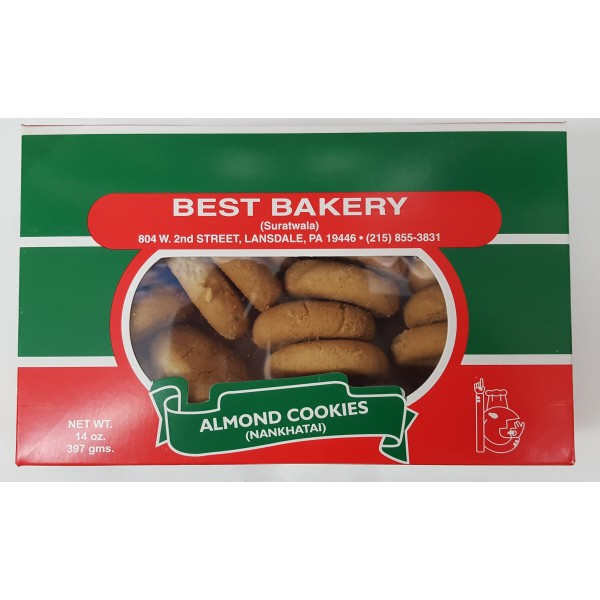 Best Bakery Almond Biscuit 14 Oz / 397 Gms