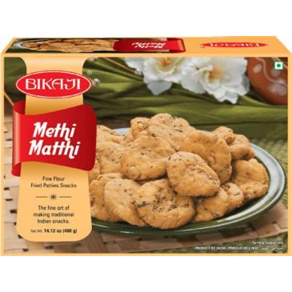 Bikaji Methi Matthi 14.12 Oz / 400 Gms