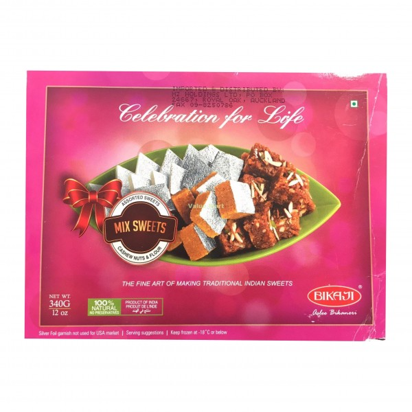 Bikaji Mix Sweets 12 Oz / 340 Gms