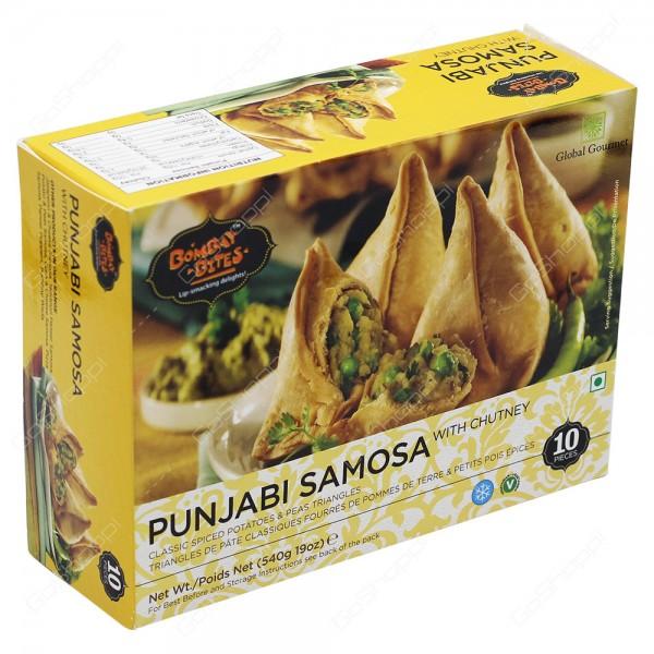 Bombay Bites Punjabi Samosa 10 Pieces