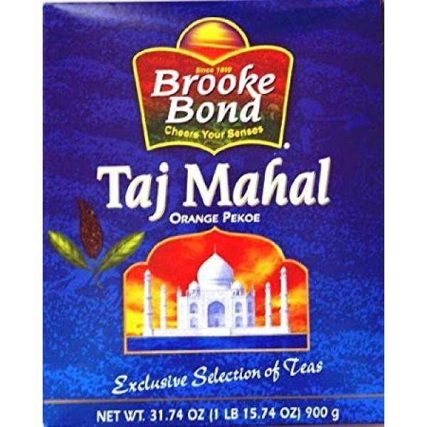 Brooke Bond Taj Mahal Orange Pekoe 31.74 OZ / 900 Gms