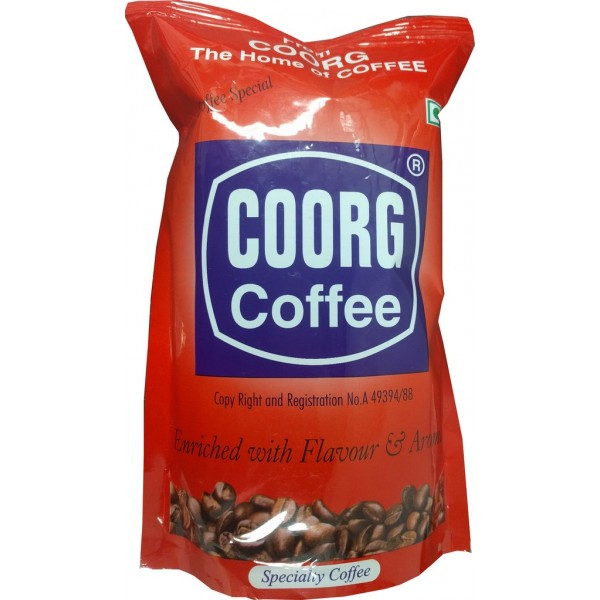 Coorg Coffee Enriched Flavored 17.5 OZ / 496 Gms