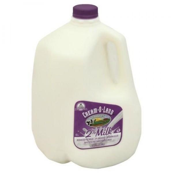 Cream-o-land Milk 2% - 1 Gallon