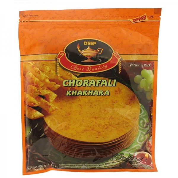 Deep Chorafali Khakhra 6.3 Oz / 180 Gms