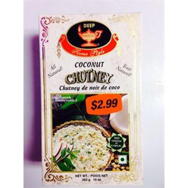 Deep Coconut Chutney 10 Oz / 283 Gms