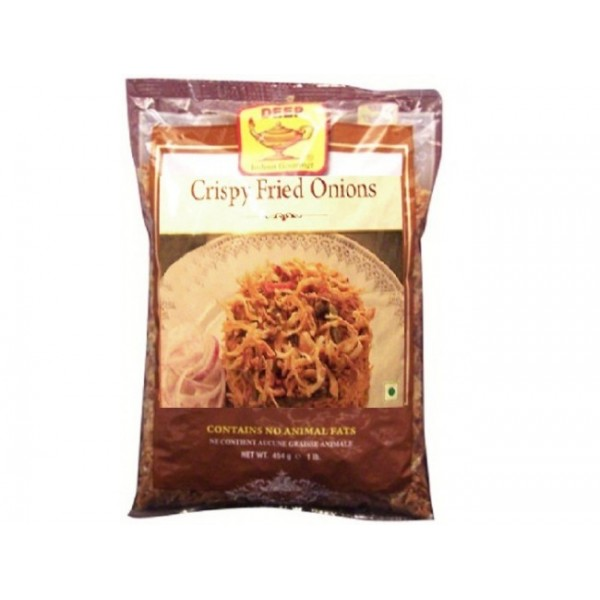 Deep crispy fried onions  14.1OZ / 400  Gms