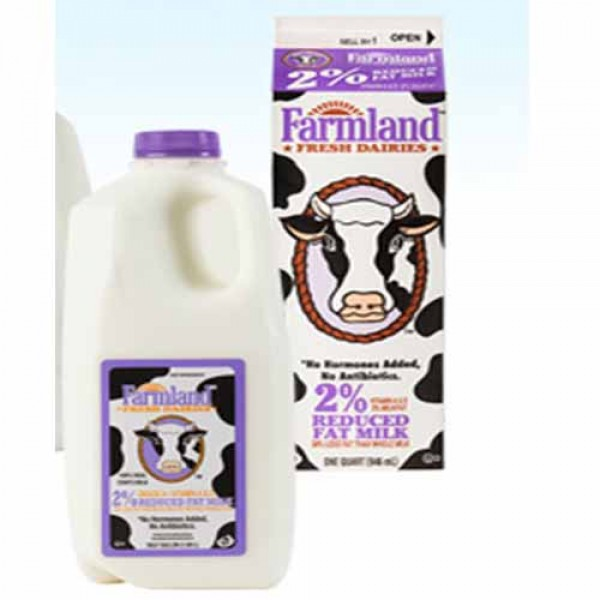 Farmland 2% Milk 1/2 Gallon