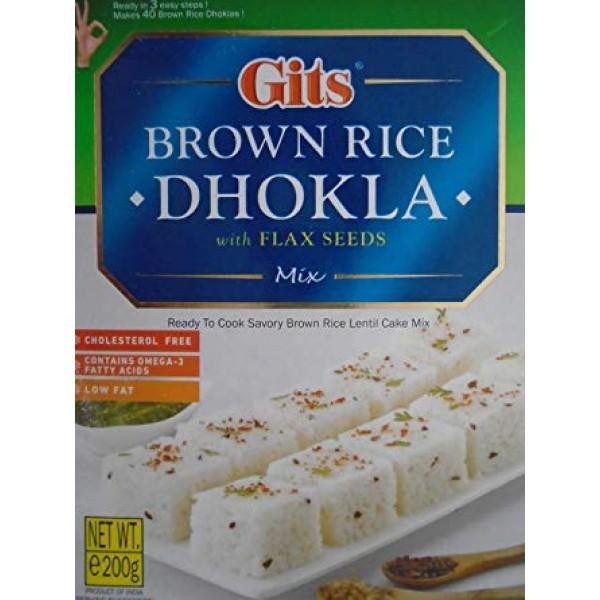 Gits Brown Rice Dhokla  7 Oz / 200 Gms