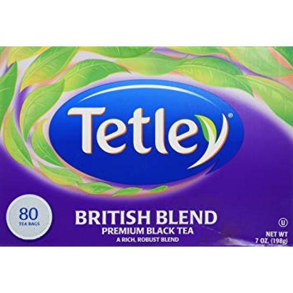 Tetley British Blend Tea 80 Bags