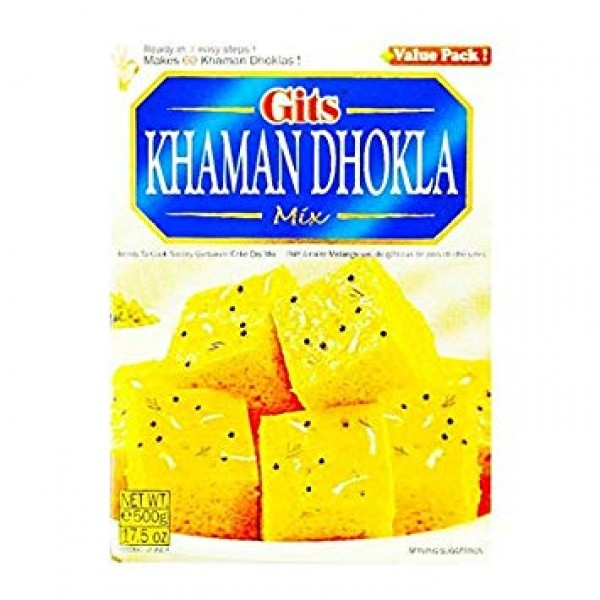 Gits Khaman Dhokla Mix 17.5 Oz / 500 Gms