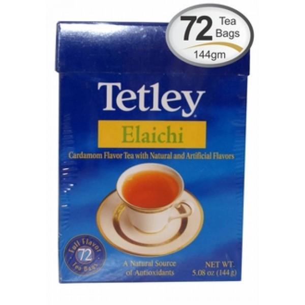 Tetley Elaichi Tea Bags 5.08 OZ / 144 Gms