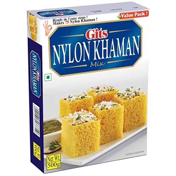 Gits Nylon Khaman Mix 17.5 Oz / 500 Gms