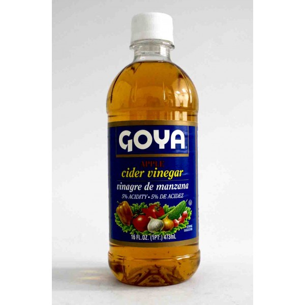 Goya Apple Cider Vinegar 16 Fl Oz / 473 ml