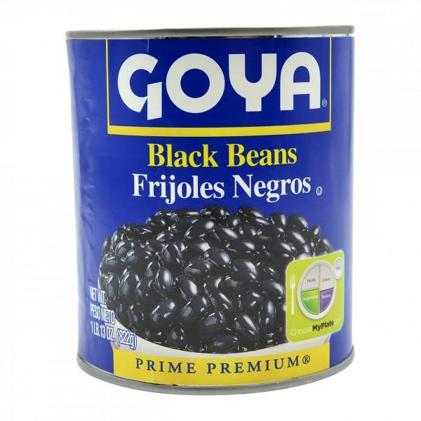 Goya Black Beans 1 Lb / 822 Gms