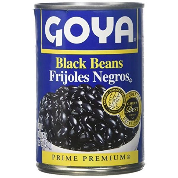 Goya Black Beans 15.5 Oz / 439 Gms