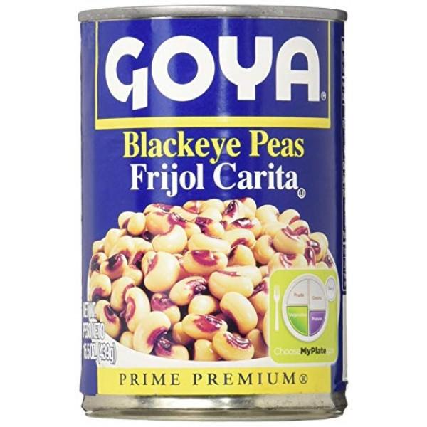 Goya Black Eye Peas 15.5 Oz / 439 Gms