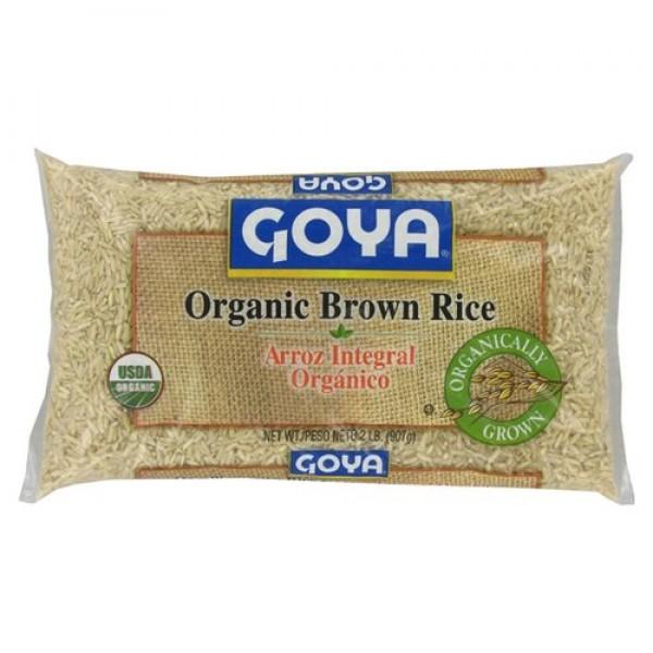 Goya Organic Brown rice 32oz