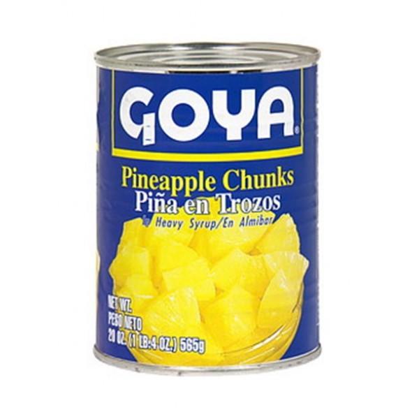 Goya Pineapple Chunks 20 Oz / 567 Gms