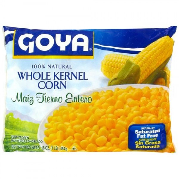Goya Whole Kernel Corn 16 Oz / 454 Gms