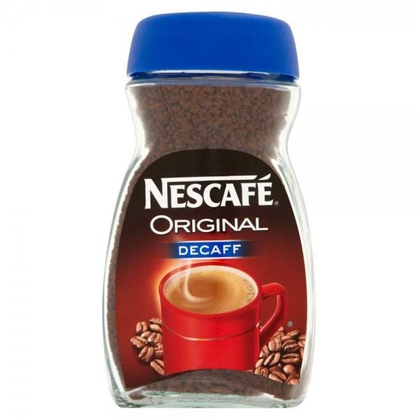 Nescafe Original Decafe Coffee 100Gms