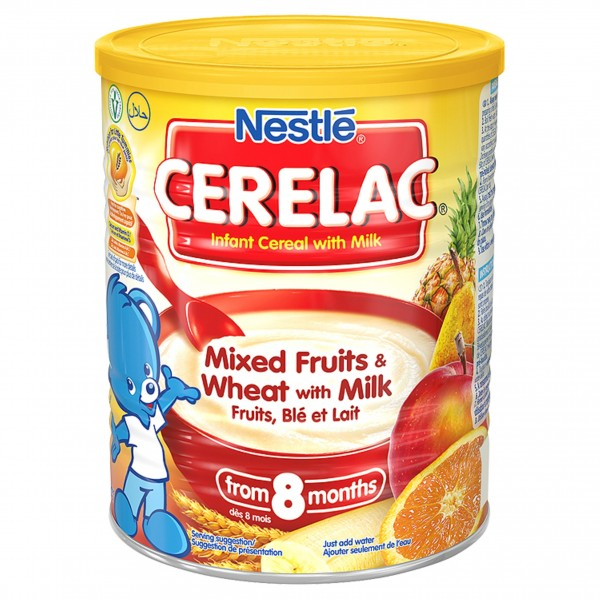 Nestle Ceralac Mixed Fruits & Wheat with Milk 400 Gms