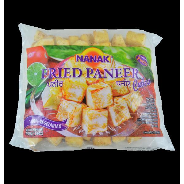 Nanak Fried Paneer 5 Lb / 2.2 Kg