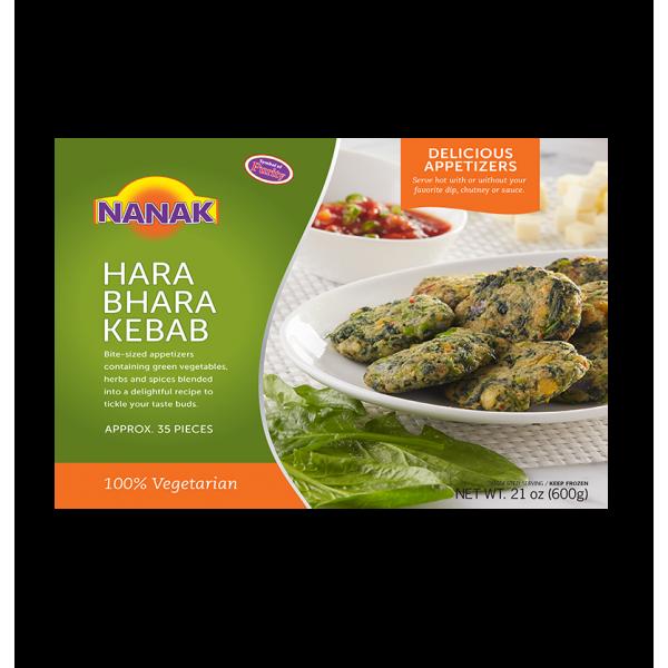 Nanak Harabhara kebab 35 Pieces 600 Gms