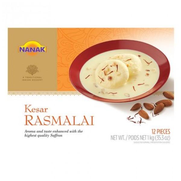 Nanak Keshar Rasmalai 12 Pieces / 1 Kg