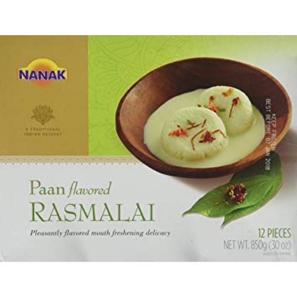 Nanak Paan Flavored Rasmalai 12 Pieces / 850 Gms