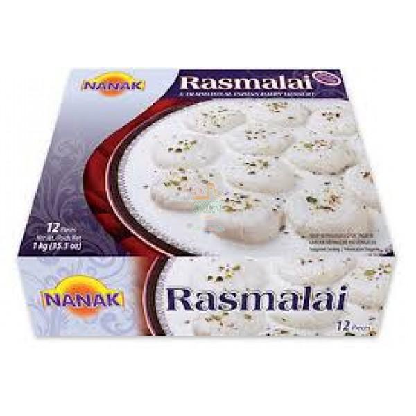Nanak Rasmalai 12 Pieces / 1 Kg
