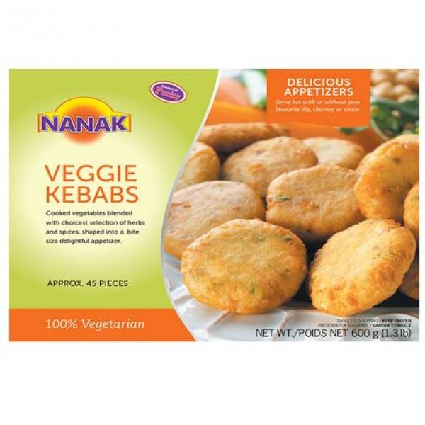 Nanak Veggie Kabab 45 Pieces/ 600 Gms