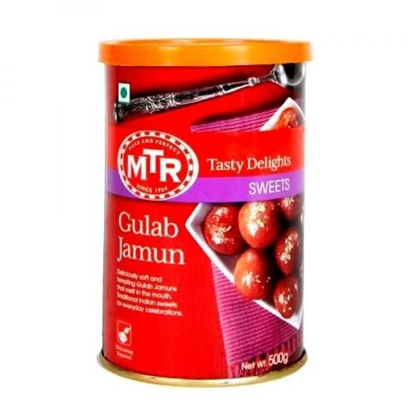 MTR Gulab Jamun 17.36 Oz / 500 Gms