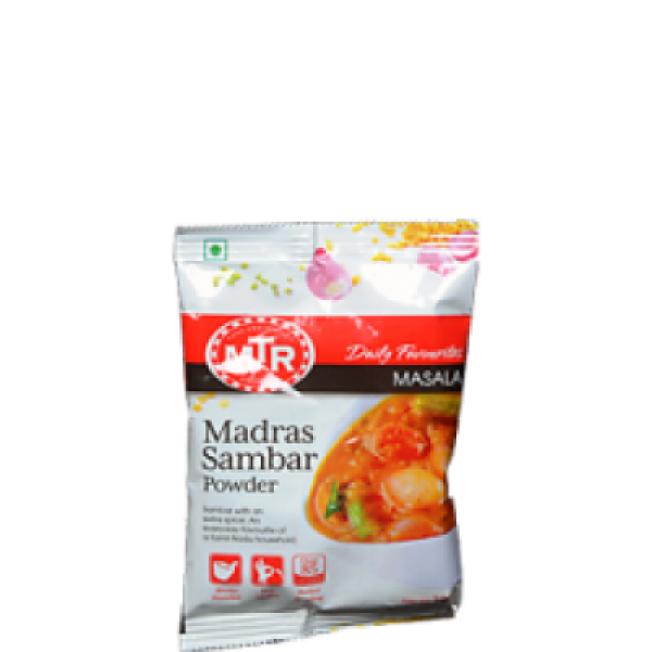 MTR Madras Samber Powder 3.5 Oz / 100 Gms
