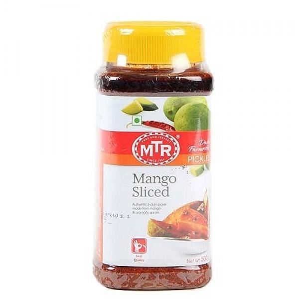 MTR Mango Sliced Pickle 10.5 Oz / 300 Gms