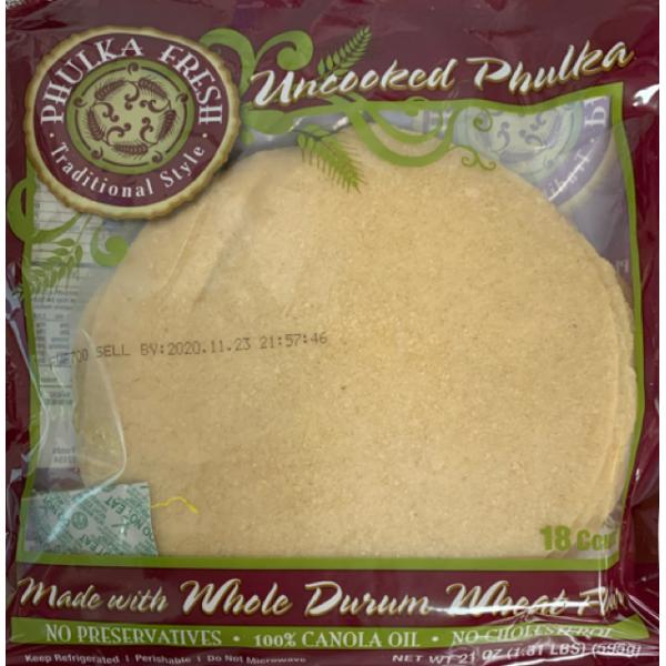 Phulka Roti 12 Pieces