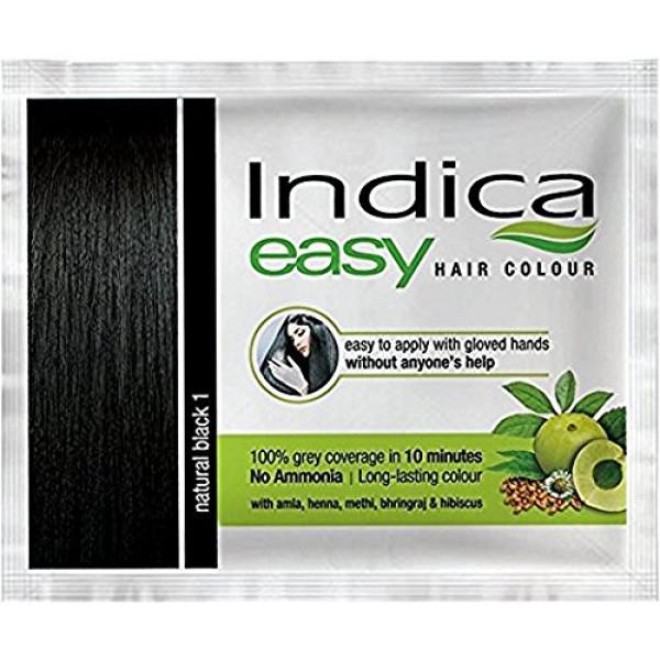 Indica easy 10 minutes Hair Color with amla,henna,bhringraj & hibiscus ( No Ammonia) -Burgundy 3.16