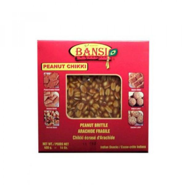 Bansi peanut Chikki 14 Oz / 400 Gms