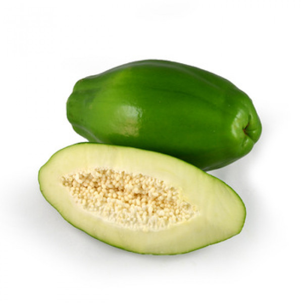 Fresh PAPAYA (Green) $/Lb