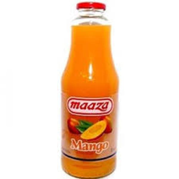 Maaza Mango Glass Bottle 1 L