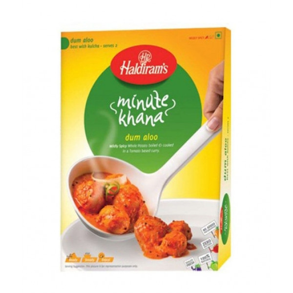 Haldiram's RTE Dum Aloo 10.5 Oz / 300 Gms