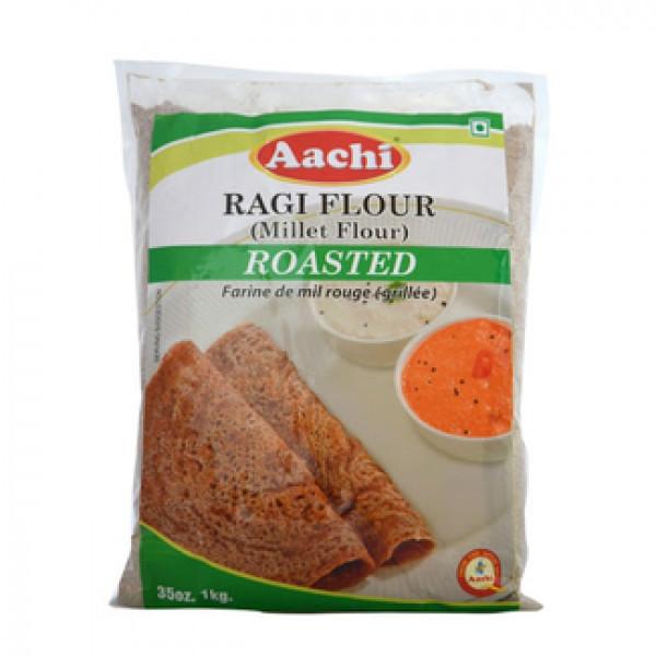 Aachi Ragi Flour (Millet Flour) Roasted- 35oz., 1kg