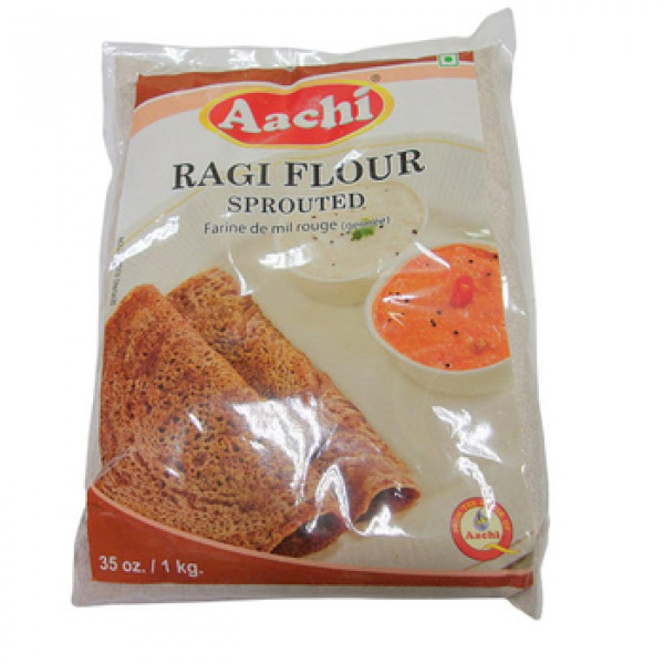 Aachi Ragi Flour (Millet Flour) Sprouted - 35oz., 1kg