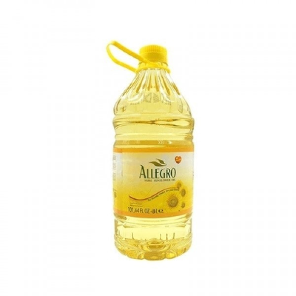 Allegro Pure Sunflower Oil 101.4 Fl Oz