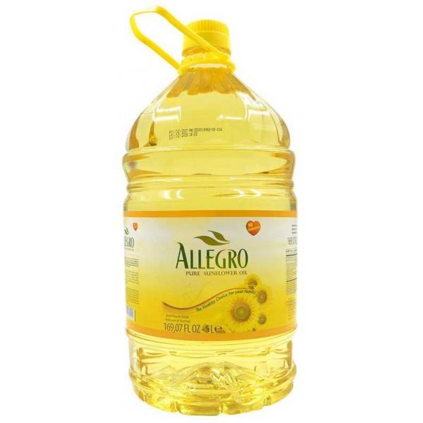 Allegro Pure Sunflower Oil 169 Fl Oz